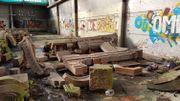 Les restes de l'hôtel Aubecq (Victor Horta) vont déménager et être nettoyés, mais pas encore remontés ni exposés.