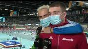 """Euro de Torun : Thomas Carmoy, enlacé par le fantasque Gianmarco Tamberi, veut """"tout faire pour aller aux Jeux !"""""""