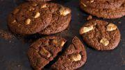Recette : cookies noirs et blancs