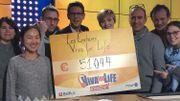 51.044€ récoltés grâce aux enchères Viva for Life !