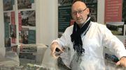 Jean-Luc Son, project manager, se réjouit de l'avancée du chantier.