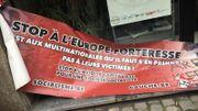 Pacte de Marrakech: les manifestants contre le racisme réunis devant la CGSP