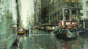 Ces somptueuses vieilles photos urbaines sont en fait des peintures à l'huile