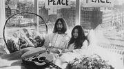 Des images inédites de Lennon et Ono