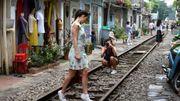 À Hanoï, le vieux chemin de fer qui enchante les touristes