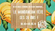 Las Hermanas Caronni LIVE dans Le Monde est un Village depuis le Mundaneum à Mons
