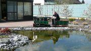 Mon jardin extraordinaire : les petits trains de Jean-Ghislain