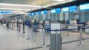 L'aéroport de Charleston est fermé jusqu'à nouvel ordre.