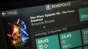 Kinepolis a déjà attiré 6,7 millions de visiteurs au premier trimestre 2016
