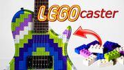 [Zapping 21] Cet internaute a fabriqué une véritable guitare avec des LEGO