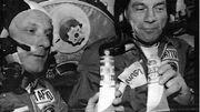 Thomas Stafford et Donald Slayton, en invité dans fusée Soyuz en 1975