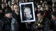 Le dessinateur français Siné enterré au cimetière Montmartre à Paris