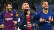 Messi le plus prolifique depuis le début de la saison, Eden Hazard 8e