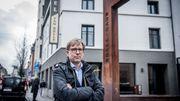 Attaché au quartier, André Hermans y tient l'hôtel familial depuis 2009.