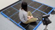 Un tapis pour détecter la présence de gens et leurs mouvements chez vous