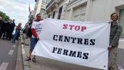 Action devant le cabinet Francken ce vendredi.