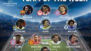 Kums dans l'équipe type de la semaine en Champions League