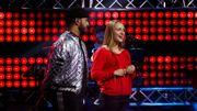 The Voice Belgique : à 17 ans, Luna charme les coachs par la pureté de sa voix !