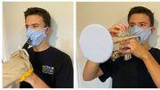 Une Américaine met au point des masques pour les instruments à vent