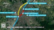 Bruxelles: pas de train sur la jonction Nord-Midi du 29 avril au 1er mai inclus
