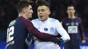 Le PSG, avec Thomas Meunier, sort l'OM en quarts de finale de la Coupe de France