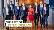 « Un futur en luxembourgeois », slogan du parti libéral