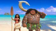 L'intrépide Vaiana continue de surfer au sommet du box-office nord-américain