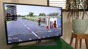 La première édition du Ronde virtuel a attiré plus de 600.000 téléspectateurs