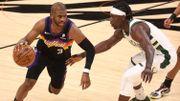 NBA: Milwaukee prend l'avantage face à Phoenix en finale de la NBA