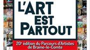 Samedi et dimanche l'Art est Partout en Ville à Braine-le-Comte