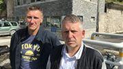 Michel Tuby et Thierry Joie, permanent syndicaux, ne comprennent pas la décision des dirigeants du groupe Lhoist