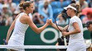 Elise Mertens n'a pas pesé lourd face à Karolina Pliskova à Eastbourne