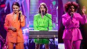 The Voice 2021: Typh Barrow interprète son nouveau single en compagnie d'Alice et Edith