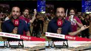 Vidéo insolite: un magicien s'incruste dans un duplex et détourne l'attention des téléspectateurs