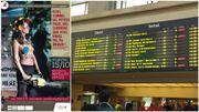 Seins nus et tronçonneuse: une affiche des Femen recalée dans les gares SNCB