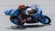 Aron Canet décroche la pole en Moto3 à Austin, Loi 16e