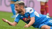 Rien ne va plus pour Naples et Mertens, battus par la Roma
