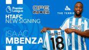 L'ailier belge Isaac Mbenza prêté par Montpellier à Huddersfield Town