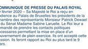 """Sabine Laruelle (MR) et Patrick Dewael (Open VLD) sont chargés de """"prendre des contacts pour la mise en place d'un gouvernement"""