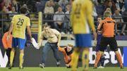 Anderlecht poursuivi pour le trublion monté sur la pelouse contre l'Union