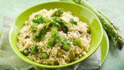 Risotto aux asperges (recette facile et de saison)