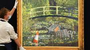 Banksy a vendu sa parodie de Claude Monet pour 8,5millions d'euros