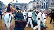 La Ducasse de Mons culminera le 15 juin avec le combat entre St-Georges et le Dragon