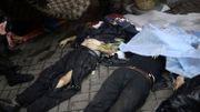 Des cadavres au centre de la capitale, Kiev