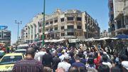 """En Syrie, la dévaluation de la livre provoque manifestations et craintes d'une """"famine"""""""