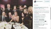 """Les acteurs de """"Friends"""" et """"The Big Bang Theory"""" réunis le temps d'une soirée"""