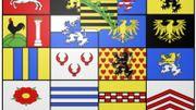 Les armoiries de la maison de Saxe-Cobourg et Gotha.