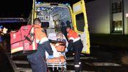 10 personnes au total ont dû être transportées à l'hôpital