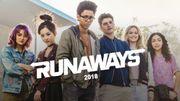 """Marvel étend son emprise sur la télévision avec la série """"Runaways"""""""