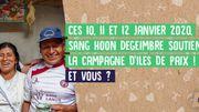 50e campagne des Iles de paix, ces 10, 11 et 12janvier
